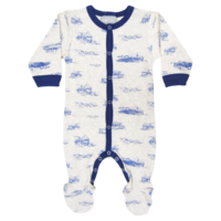 P3912 Ship/Oatmeal Romper