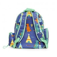 PS Backpack Lge  Dino Rock