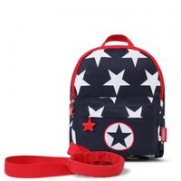 PS Backpack Mini w/- Rein - Navy Star