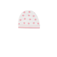 Pink Shell Reversible Beanie