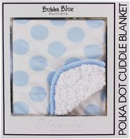 Polka Dot Cot Blanket - Various Colours