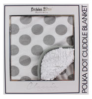Polka Dot Cuddle Blanket