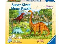 RB052660 Dinosaur Pals SuperSize Puzzle 24pc