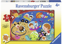 RB086771 Recess in Space 60pc Puzzle 4+
