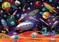 RB087822 Space 35pc Puzzle 4+