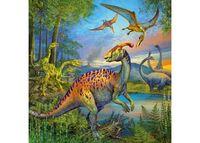 RB093175 Dinosaur Fascination 3 x 49pc Puzzles