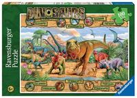 RB106097 Dinosaurs 100 pc Puzzle 6+