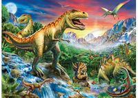 RB106653 Time of the Dinosaurs 100pc Puzzle