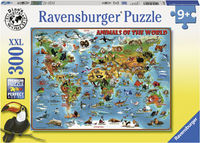 RB132577 Animals of the World 300pc Puzzle