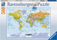RB147557 Political World Map 500pc