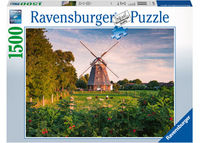 RB162239 Windmill on the Baltic Sea 1500pc Puzzle