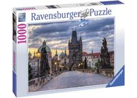 RB197385 Across Charles Bridge at Dawn 1000pc Puzzle