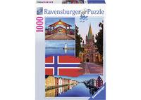 RB198450 Trondheim College 1000pc Puzzle