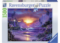 Ravensburger RB163595 Sunrise in Paradise 1500pc Jigsaw Puzzle