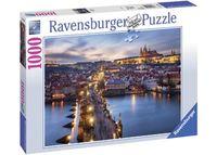 RB197408 Prague At Night 1000pc Puzzle