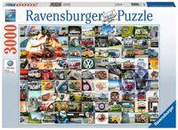 Ravensburger - 99 VW Campervan Moments, 3000pc