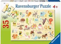Ravensburger - A-Z Animals Puzzle 35 pieces
