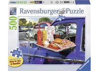 Ravensburger - Drive-Thru Route 66 Puzzle 500 pieces Lge Format