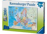 Ravensburger - European Map Puzzle 200 pieces