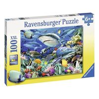 Ravensburger - Reef of the Sharks 100pc Puzzle
