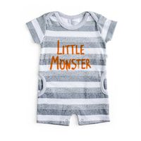 S6174 Monster Romper