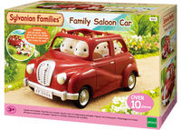 SF Family Saloon Car Red