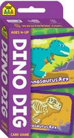 School Zone Dino Dig Flash Card Game