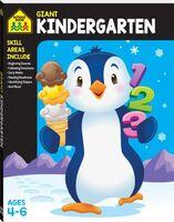 School Zone Giant Kindergarten Ages 4-6