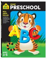 School Zone Giant Preschool Ages 3-5