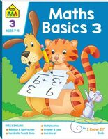 School Zone Maths Basics 3 - I Know It Workbook