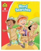 School Zone Word Searches: An Activity Zone Book