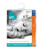 Sleep Suit 2.5Tog Pink