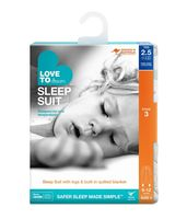 Sleep Suit 2.5Tog White