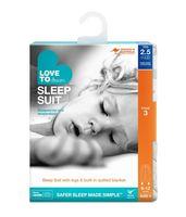Sleep Suit 2.5Tog White