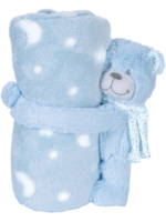 Snuggle Pets Teddy with Blanket