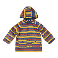 Striped Raincoat A1761M