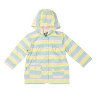 Striped Raincoat A1761P