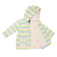 Striped Raincoat A176P