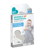 Swaddle UP Transition Bag Extra Warm 3.5Tog White