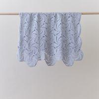 0012 Swirl Blue Baby Blanket