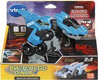 Switch & Go Dinos Spark the Velociraptor