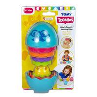 TOMY Toomies Hide & Squeak Nesting Eggs Stacking Toy