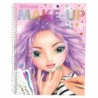 TOP MODEL Make Up Colouring/Activity Book