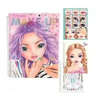 TOP MODEL Make Up ColouringActivity Book