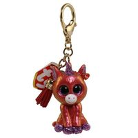 TY Beanie Boos - Mini Boo Collectible Clips - SUNSET the Unicorn 25062