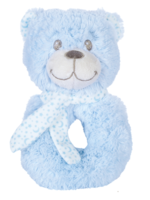 Snuggle Pets Teddy Rattle
