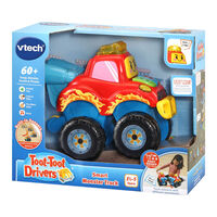 Toot-Toot Drivers Smart Monster Truck Toy