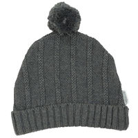 Tri Action Knit Beanie - Charcoal
