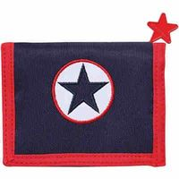 Wallet Navy Star