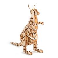 Wooden Art Kangaroo